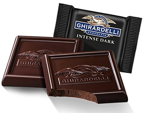Ghirardelli Bulk Intense Dark Chocolate 86% Cacao Square (3 pound)