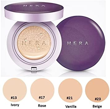 Hera Uv Mist Cushion Ultra Moisture Spf34 Pa 15g 23 Beige Herbal Creams