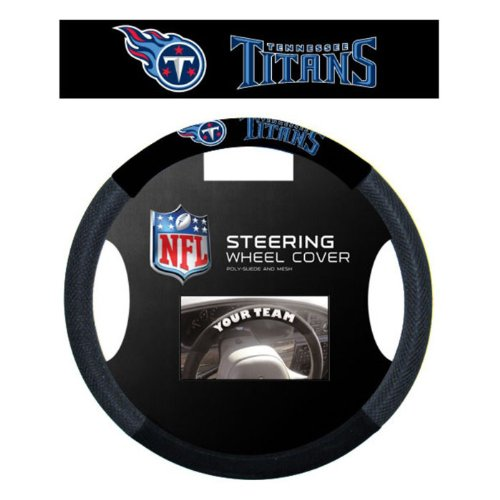 NFL Tennessee Titans Massage Grip Steering Wheel (Tennessee Titans House Banner)