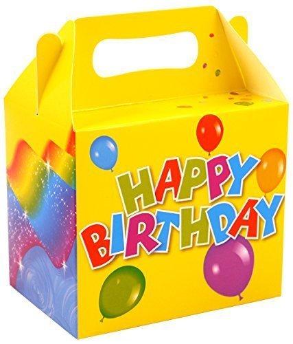 Scatole per merenda per feste di compleanno, 12 pezzi Henbrandt X00 488