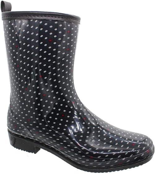 buyAzzo Stivali di Gomma da Donna per Il Tempo Libero