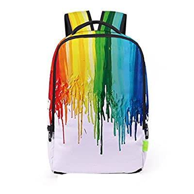 Hemlock Junior Teen 3D Backpacks Schoolbag Shoulder Backpack