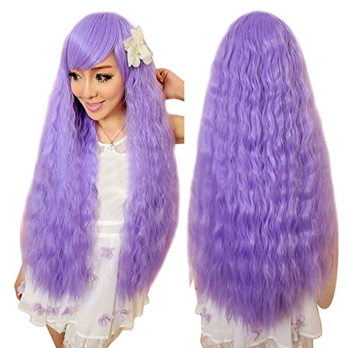 ACE Instant Noodles Curly Hair Wigs Fashion Cosplay Wig Corn Ironing Fluffy - Instant Noodle Costume