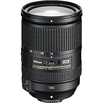 Nikon Af-s Dx Nikkor 18-300mm F3.5-5.6g Ed Vibration Reduction Zoom Lens With Auto Focus For Nikon Dslr Cameras 0
