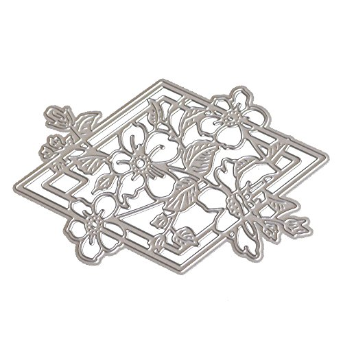 TOPUNDER New Flower Heart Metal Cutting Dies Stencils DIY Scrapbooking Album Paper -