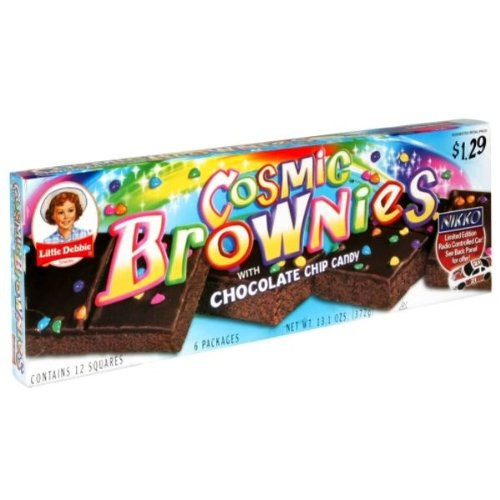 Price comparison product image Little Debbie Cosmic Brownie (Pack of 6)