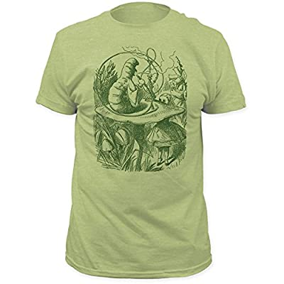 New Alice's Adventures in Wonderland - Mens Hookah Caterpillar Fitted T-Shirt for cheap