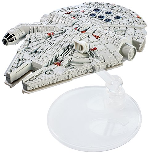 (Hot Wheels Star Wars Rogue One Starship Vehicle, Millennium Falcon)