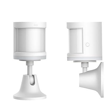 Sensor de movimiento luz nocturna, se adhiere a cuerpo de movimiento inalámbrica WiFi conexión de
