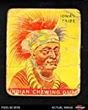 1933 Goudey Indian Gum # 2 Ioway Tribe (Card) Dean's Cards AUTHENTIC 3408951