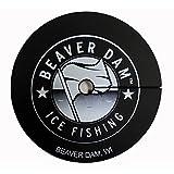 Beaver Dam Tipup Best Deals - Beaver Dam Ice Fishing Hole Cover - Black