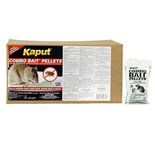 Kaput Combo Bait Pellets - 250 placepacks by DavesPestDefense
