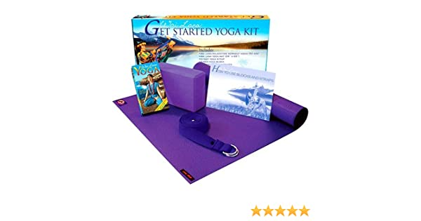 Amazon.com: Wai Lana Yoga: Get Started Yoga Kit [VHS]: Wai ...
