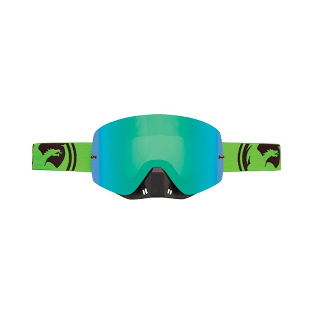 Dragon Alliance Unisex-Adult's Nfxs Goggle (Green-Black Split/Green Ion Lens, One Size) by Dragon Alliance (Image #1)