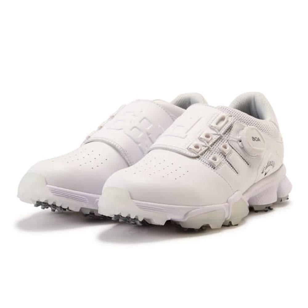キャロウェイゴルフ Callaway Golf シューズ ゴルフシューズ 24.5 cm ホワイト B07GQZ2HQF