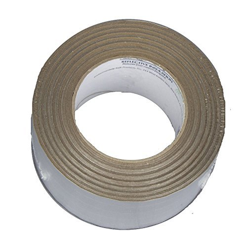 US Energy Products Scrimless Foil Tape 3.0ft x 150ft ( 50 Yards ) Pipe Duct Wrap Tape by MWS (Image #2)