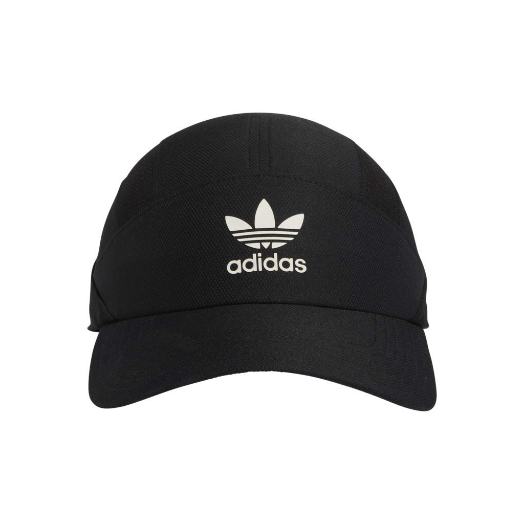 Black//White adidas Men/'s Originals Relaxed Circuit Strapback Cap One Size Agron Hats /& Accessories 977321