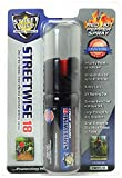 Streetwise Security Products Lab Certified Streetwise 18 Pepper Spray, 2-Ounce, Twist Lock