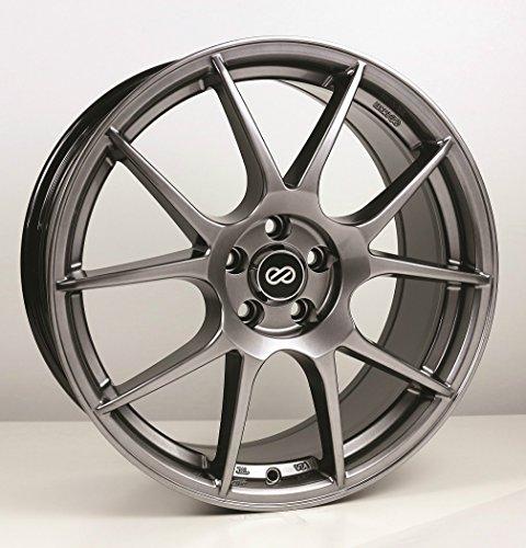 (17x7.5 Enkei YS5 (Hyper Black) Wheels/Rims 4x100 (494-775-4942HB))