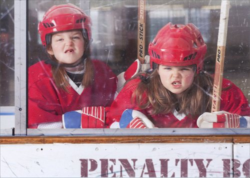 Tough Girls Penalty Box Birthday