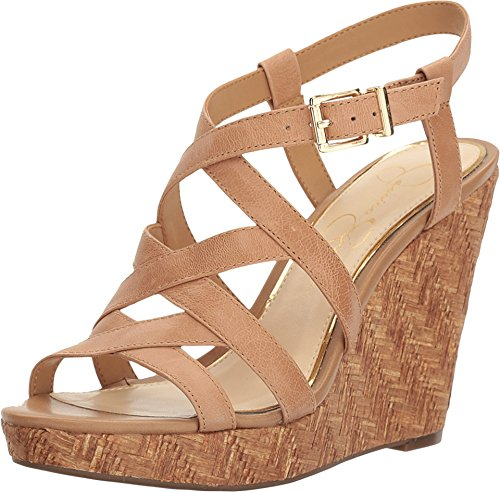 Jessica Simpson Women's Jazlin Buff Belavista Sandal (Platforms Jessica Leather)