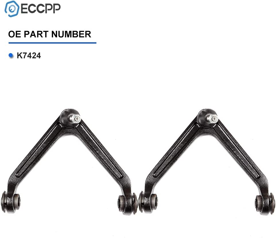 ECCPP Front Upper Control Arm Ball Joints Suspension Kit for 2007-2009 Chrysler Aspen 2004-2009 Dodge Durango 2002-2005 Ram 1500