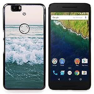 Stuss Case / Funda Carcasa protectora - Océano Horizonte Mar Surf Verano - Huawei Google Nexus 6P