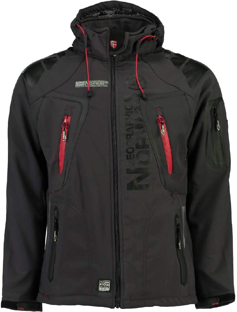 Geographical Norway Tambour Chaqueta Softshell para Hombre