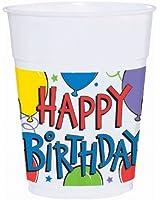 Balloon Fun 14 oz. Plastic Cups