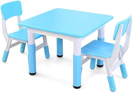 ZH Mesa de Actividades para Infantiles Y 2 Juegos de Sillas ...