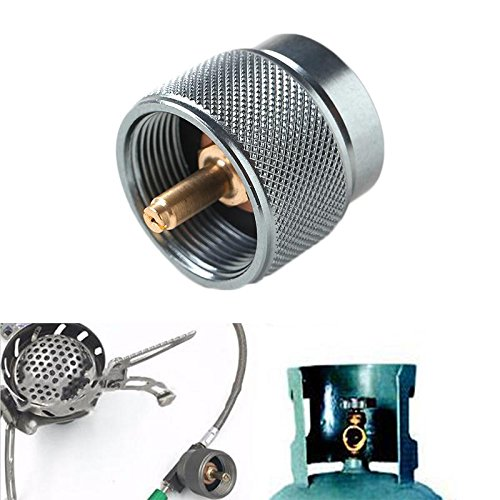 Flatulency Gas Cylinder Adapter Outdoor Picnic & Bbq - Laotie Camping Cartridge Gas Canister Cooking Stove Cans Cruse Adapter Converter - Arranger Natural Piston Chamber Adaptor - (Pol Piston)