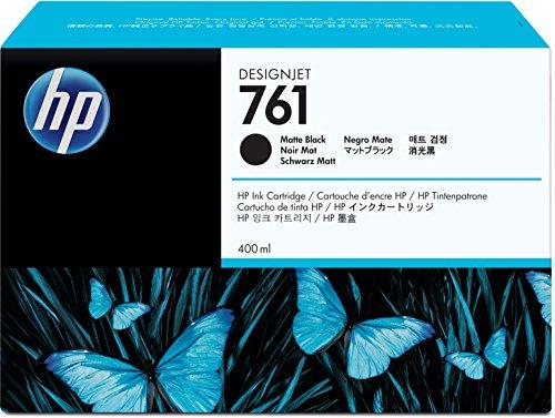 Hewlett Packard CM991A 761 400-Ml Matte Black Designjet Ink