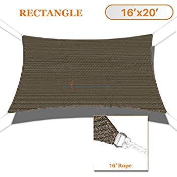 San diego sail shades waterproof 20 39 x16 for Shade cloth san diego