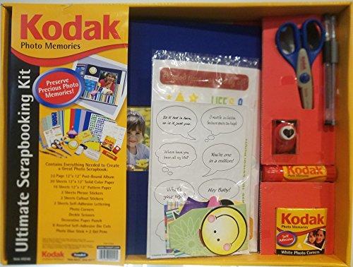 (Kodak Scrapbook, Craft Paper, Stickers, For Anniversary Wedding Easter Birthday)