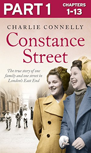 Constance Street can either be read as a full-length eBook or in 3 serialised eBook-only parts.   This is PART 1 of 3.   You can read Part 1 two weeks ahead of release of the full-length eBook and paperback.   One forgotten street, 12 unforgettabl...