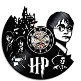 Cheap Vinyl Clock Bedroom Wall Décor Gift for Harry Potter Fans
