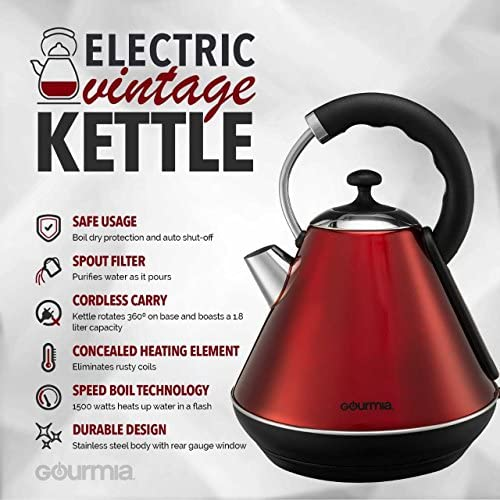 Gourmia GK270 Electric Kettle Modern