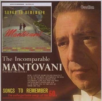 0b2e9abd8a9b MANTOVANI - Songs to Remember  Incomparable Mantovani - Amazon.com Music