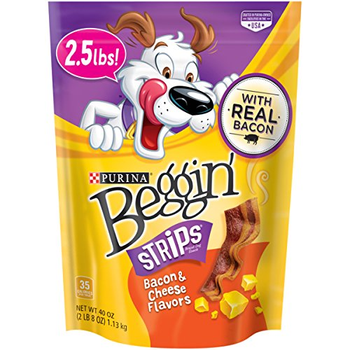 Purina Beggin' Strips Bacon & Cheese Flavors Dog Treats