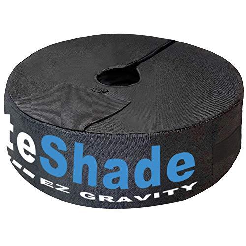 EliteShade 18 Round Umbrella Base Sand Weight Bag Market Patio Outdoor Heavy Duty Umbrella Holder – Up to 88 lbs