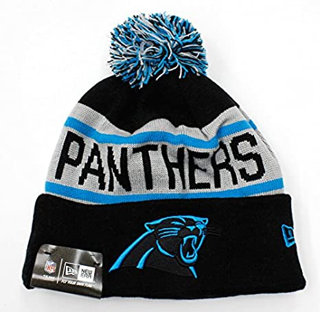 d605f0cf7 Image Unavailable. Image not available for. Color  Carolina Panthers New NFL  2015-2016 New Era Authentic Biggest Fan Redux Beanie ...
