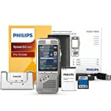 Philips DPM8000/01 Digital Pocket Memo with Speech Exec Pro Dictation Software and SR Module