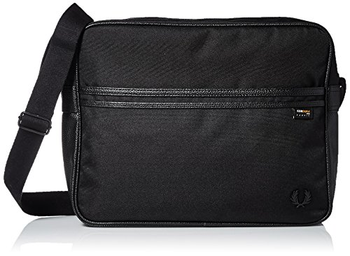 Fred Perry Bag Men's Perry Nylon Shoulder Black Men's Fred qFf1n7xE