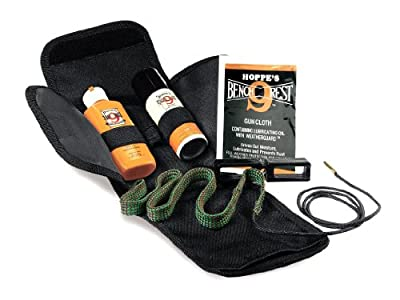 Hoppe's BoreSnake Soft-Sided Pistol and Revolver Cleaning Kit (Choose Your Caliber)