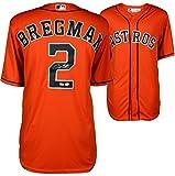 Alex Bregman Houston Astros Autographed Majestic Orange Replica Jersey - Fanatics Authentic Certified