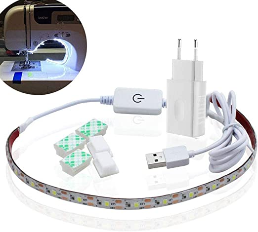 Luz LED para máquina de Coser, Tira de luz LED de 30 cm con ...