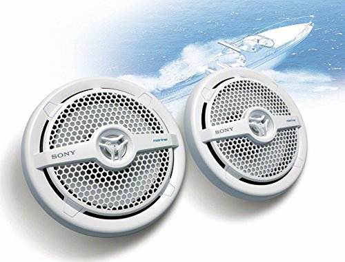 Sony XSMP1621 6 1/2-Inch coaxial 2-way Marine Speaker by Sony (Image #4)