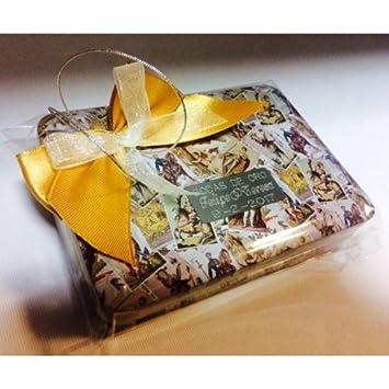 Baraja de cartas con caja PERSONALIZADA para regalo detalle para invitados boda, bautizo, comunión
