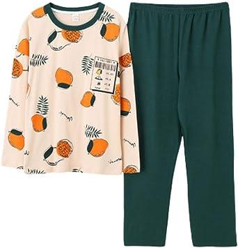 Pijamas para Mujer, Conjunto De Pijama Mujer 100% Algodón Manga ...