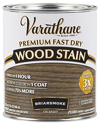 Rust-Oleum 313608 Premium Fast Dry Wood Stain, 32 oz, Briarsmoke (Pre Stain Conditioner)